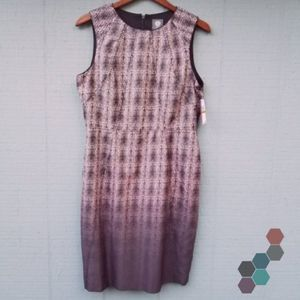 Vince Camuto NWT Ombre Fitted Dress 14 $128